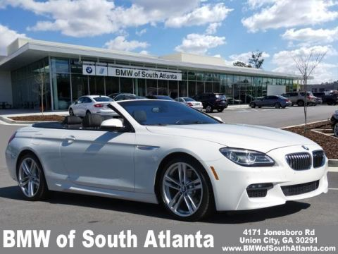 Pre Owned 2017 Bmw 6 Series 640i Rear Wheel Drive Convertible