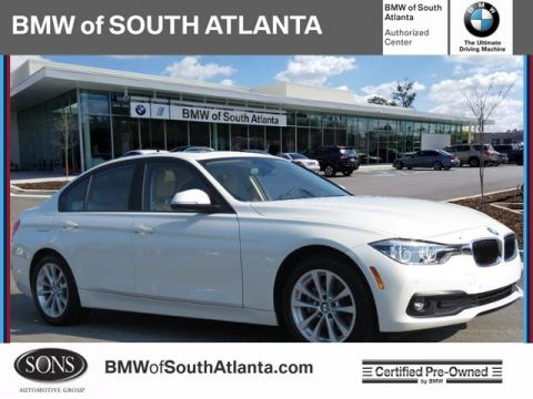 Certified Pre-Owned 2018 BMW 3 Series 320i